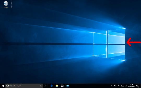 Windows 10の右エッジスワイプによる「アクションセンター」表示