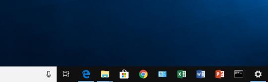 Windows 10 でタスク バーに置いてあるプログラムをショートカットキーで起動